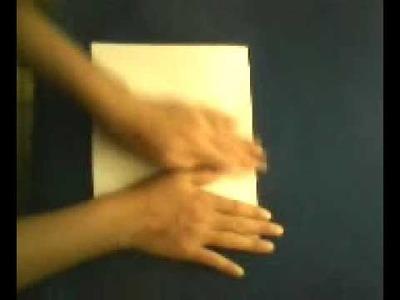 Como hacer una casa de papel