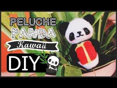 DIY: Panda Kawaii. Peluche artesanal ♥