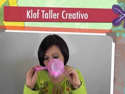 KLOF - COMO HACER UN SOMBRERITO HALLOWEEN EN FOAMY - MICROPOROSO