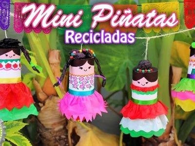 Mini Piñatas Decorativas para Fiestas Patrias. Floritere