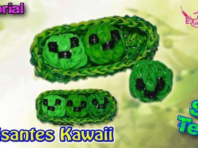 ♥ Tutorial: Guisantes en 3D Kawaii (sin telar) ♥