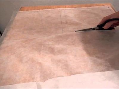Cómo coser la funda interior para el relleno de un almohadón.cojín
