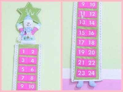 DIY♥ Calendario para navidad -Yami