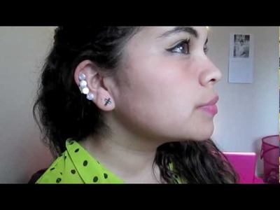 DIY Ear Cuffs. Aretes