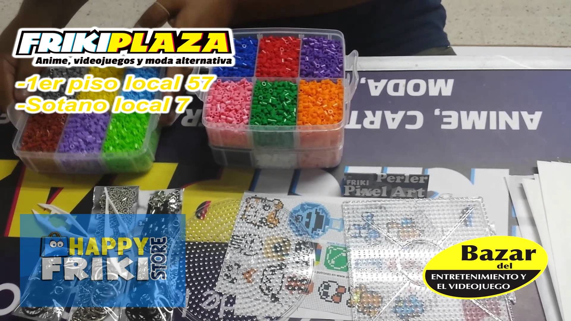 Kit Multiple 4 para Perler Pixel Art Frikiplaza DF