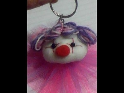 Llavero payaso. Clown Keychain 1.2. proyecto 3