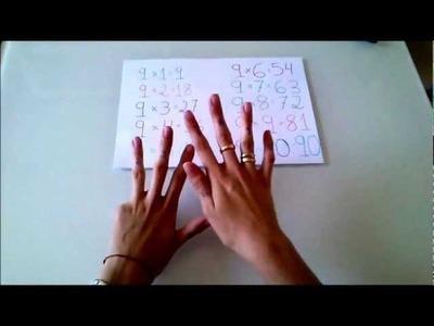 Truco para enseñar la tabla del 9 | facilisimo.com