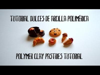 Tutorial dulces de arcilla polimérica - Polymer clay pastries tutorial