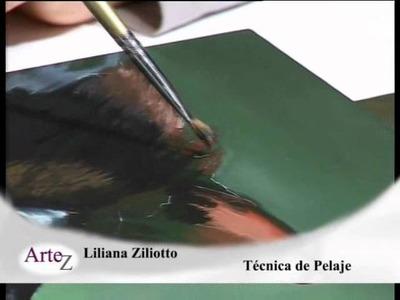 Cómo pintar pelajes con acrílico