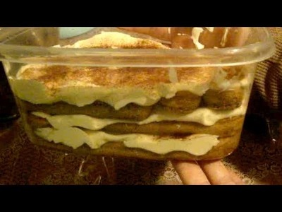 Cómo preparar un rico tiramisu postre - La receta de la abuela