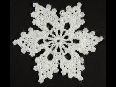 Crochet : Copo de Nieve # 2
