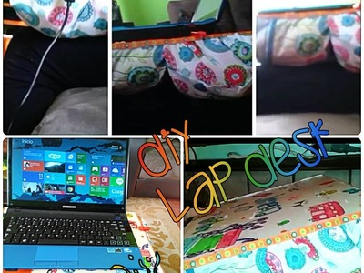 DIY Lap Desk ¿Cómo hacer una base para computadora.laptop? How to make a lap desk?