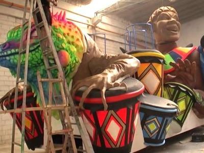 Elaboración de Carrozas Carnaval de Barranquilla 2012