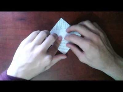 Hacer cubo de origami