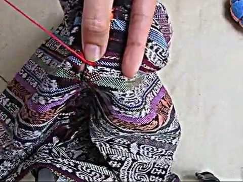 Punto rumano. puntada rumana. romanian stitch