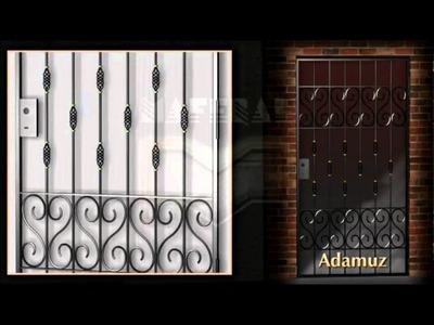 Rejas de Diseño - Puertas de Rejas - Hierro - Portones - Ventanas - Herreria