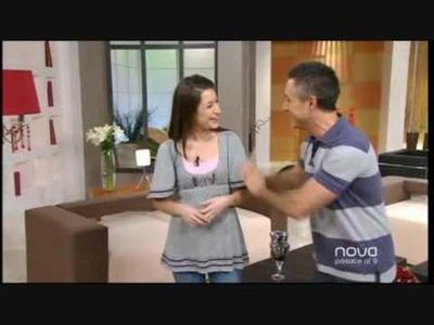 Silvia Mijangos realiza un colgante de cuentitas, Bien Simple, Antena Nova