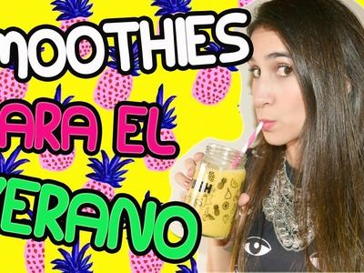 Smoothies para el verano | DIY - Fashion Diaries