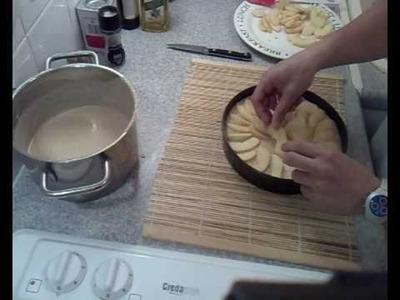 Tarta de manzana facilísima