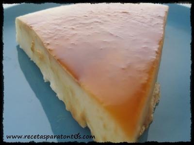 Tarta de queso fría