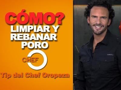 Tip del Chef Oropeza - Cómo limpiar y rebanar Poro