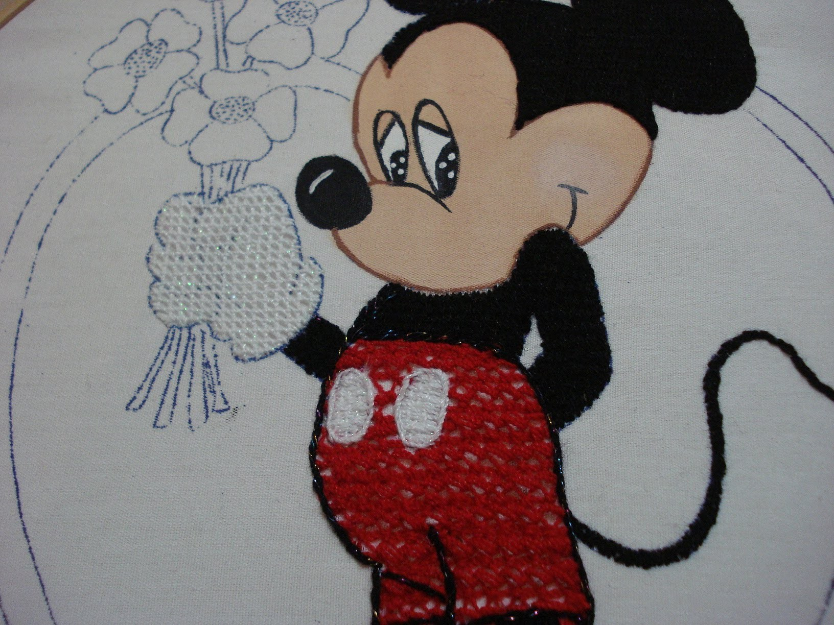 Bordado Fantasía Short Micky
