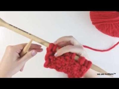 ¿Cómo tejer punto tela? - Aprende a tejer