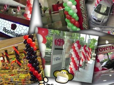 Decoración con Globos , Decoraciones, Eventos y Fiestas Ardi & El Mono