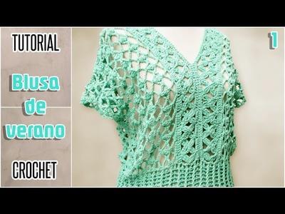 DIY Blusa para mujer, todos los talles - Tutorial paso a paso (1 de 2)