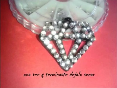 DIY Collar Diamante