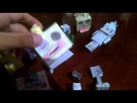 Mi colección de paper craft