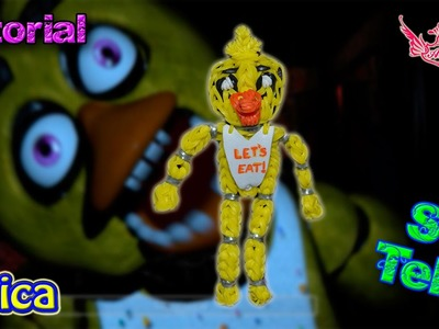 ♥ Tutorial: Chica de gomitas de Five Nights at Freddy's (sin telar) ♥