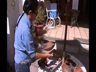 Construcción de un horno para cerámica 2010