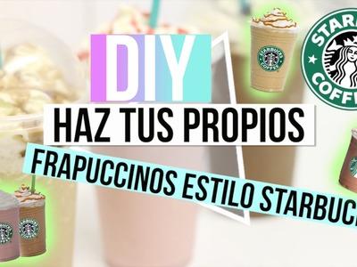DIY: Frapuccinos Estilo Starbucks