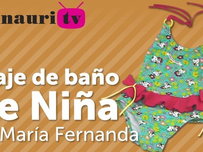 DIY Traje de Baño Niña ( girls swimwear - swimsuit )