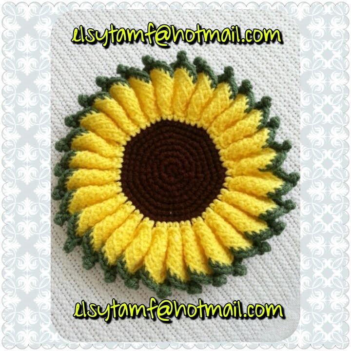 Girasol a crochet tutorial