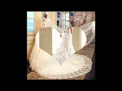 Ideas vestidos de novias con cola
