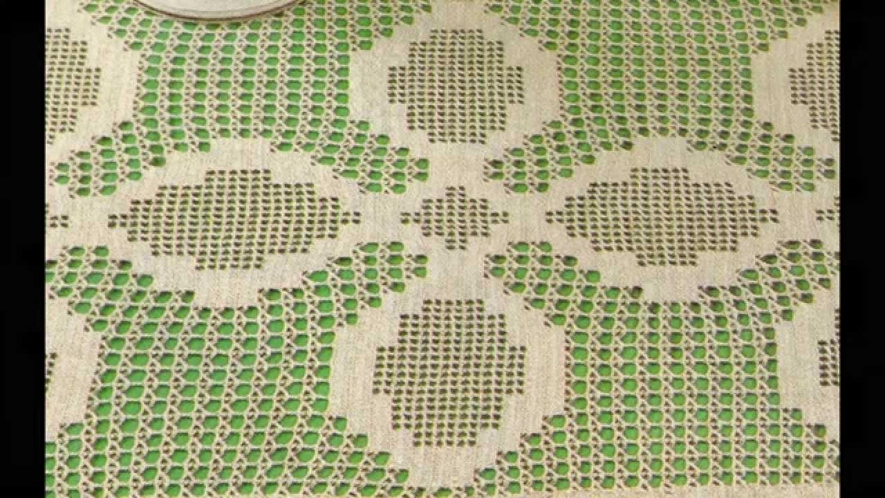 Instrucciones Como Tejer Tapete Rectangular a crochet