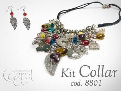 KIT 8801 Kit Collar trenza mix