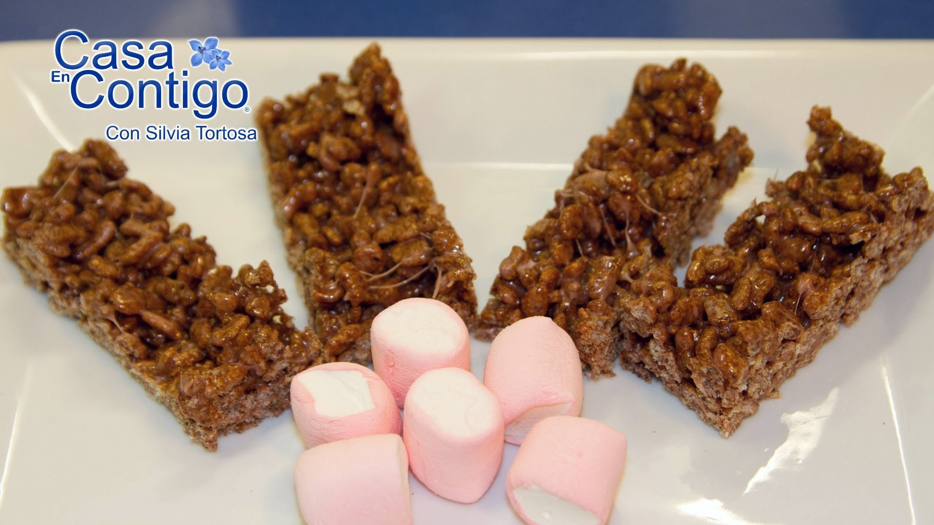 Rice Krispies Treats o Dulces de Chocolate con Marshmallows o Nubes