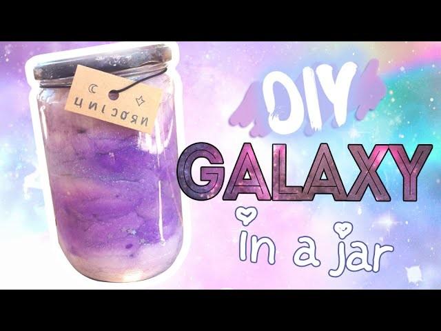 Tmblr DIY Galaxy in a Jar! [¡En Español!]  *:・゚✧