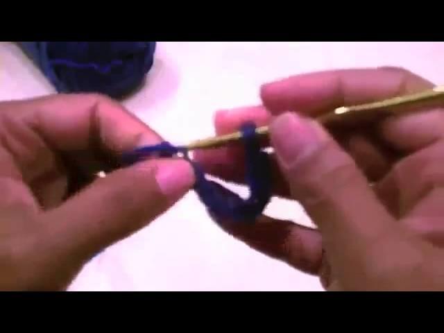 Tutorial de Crochet: Cerrando anillo con punto pasado