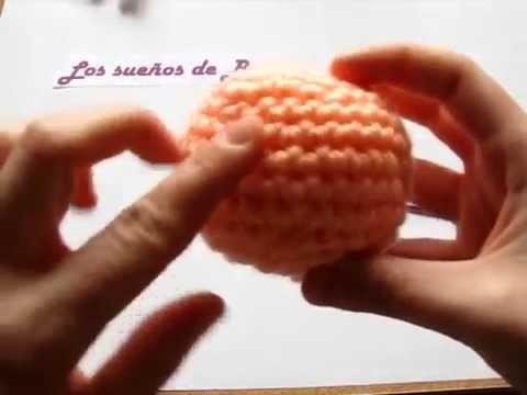 Aprende a tejer una pelota amigurumi: Segunda parte