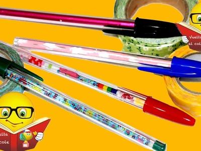 Bolígrafos decorados para la vuelta al cole