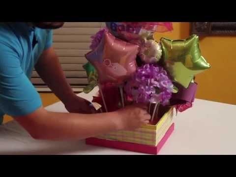Centro de mesa baby shower manualidades, center piece. bebe #babyshower