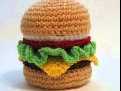 Comidas tejidas a crochet