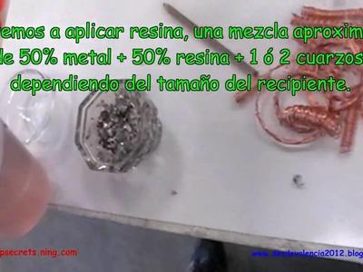 Como hacer tus propias Orgonitas , Valencia 2010