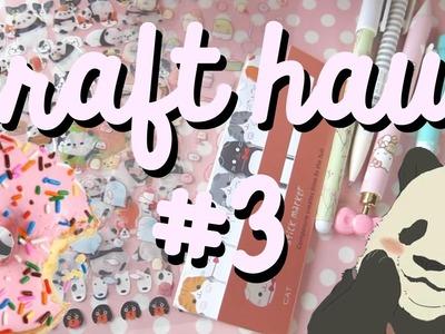 CRAFT HAUL #3 | Washi Tape, Post-it, Pegatinas.