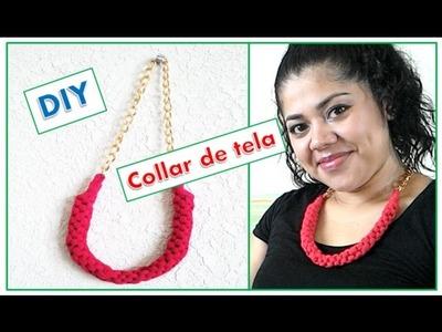 DIY: Collar de tela! | ¡Hazlo tu misma! con Yami ♡