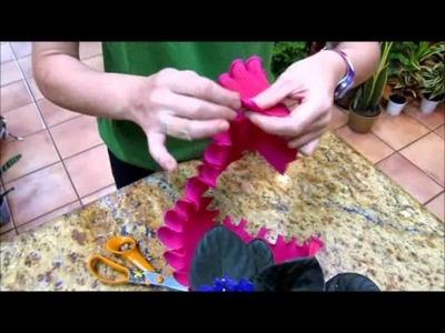 Envolver planta para regalos Zaragoza www.elrincondelasflores.com